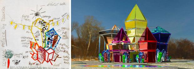 A világ érdekes gyerkeű gyerek terv  álomház