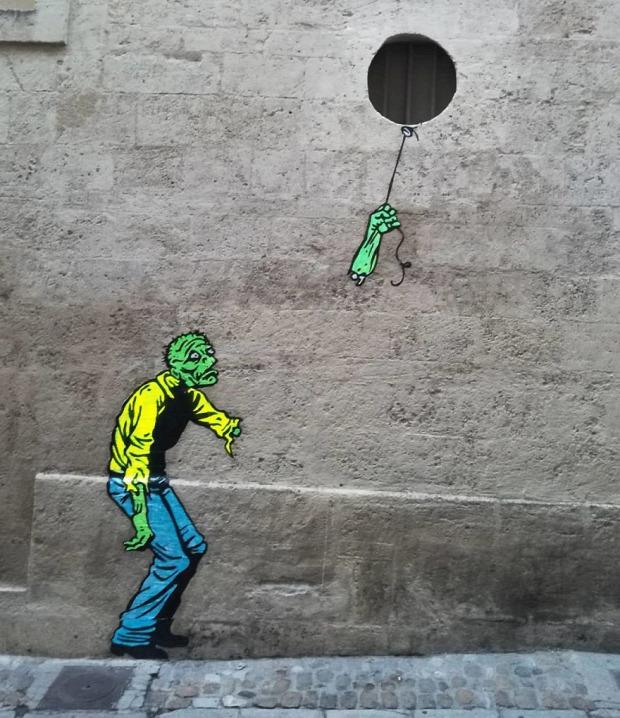 EFIX graffiti popkultúra ikon rajz figura