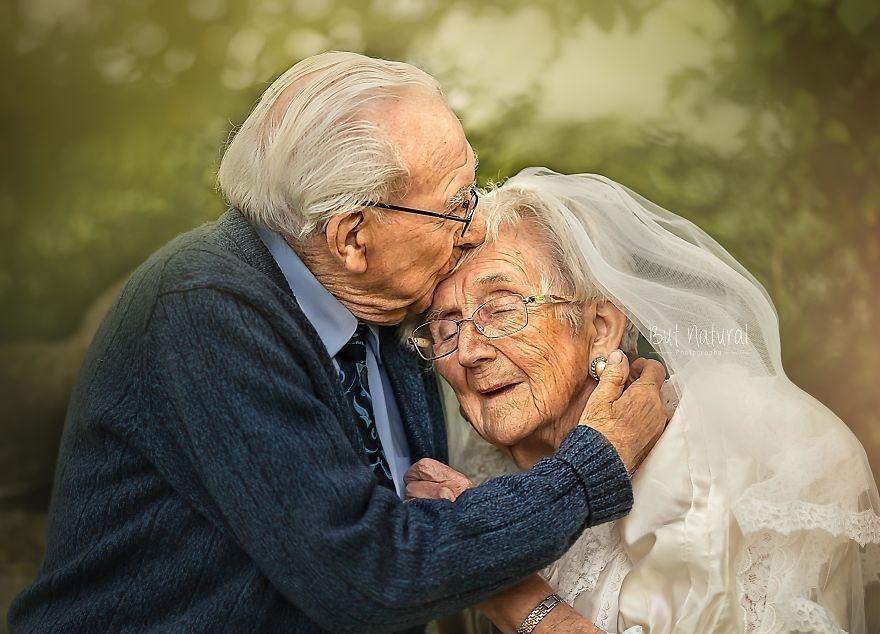 pár 72 év szerelem örök