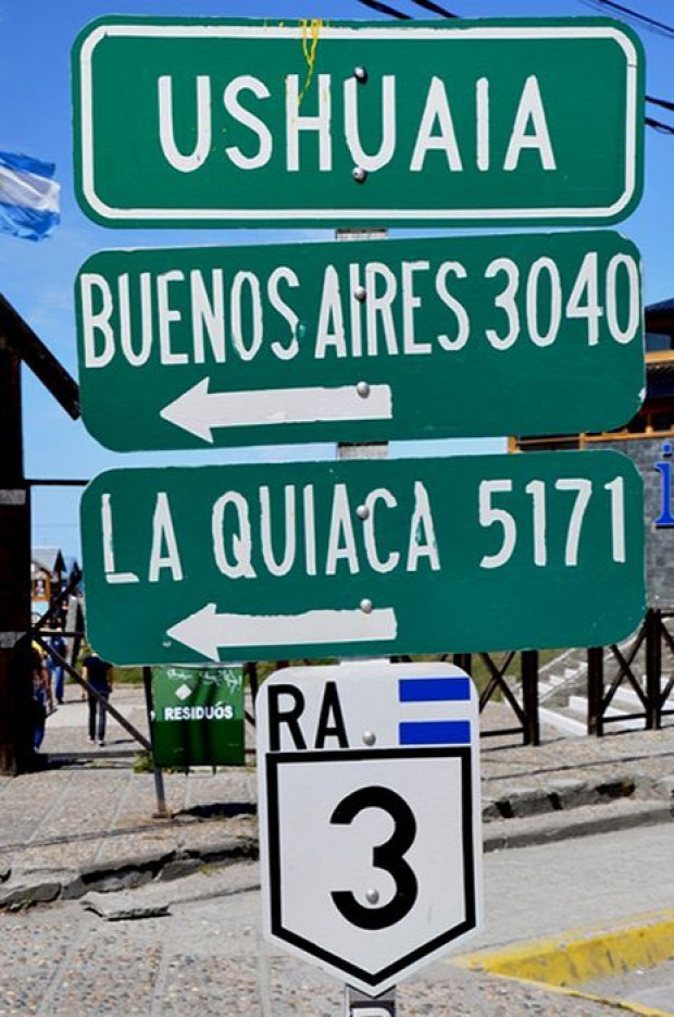 A világ érdekes Argentína tűzföld Ushuaia legdélebbi város