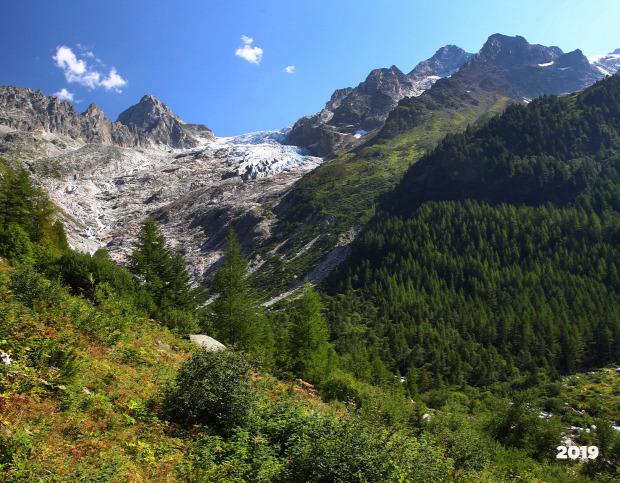 Alpok gleccser klímaváltozás felmelegedés