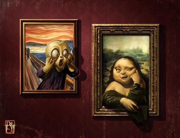 Mona Lisa digitális művészet