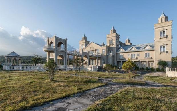 A világ érdekes Dél-Korea kastély elhagyatott film forgatás