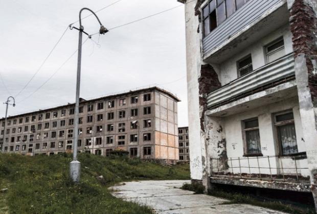 oroszország Szovjetúnió elhagyott épület a világ érdekes