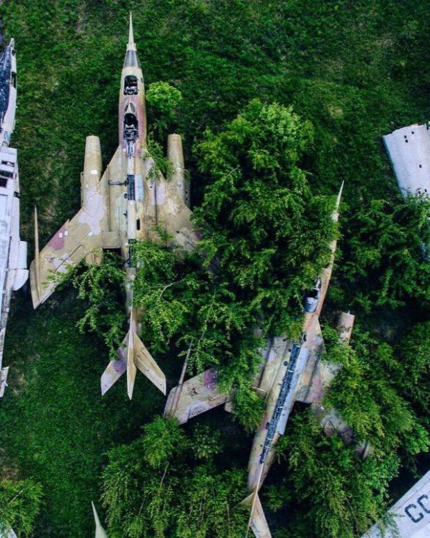 A világ érdekes  Oroszország elhagyatott rom roncs