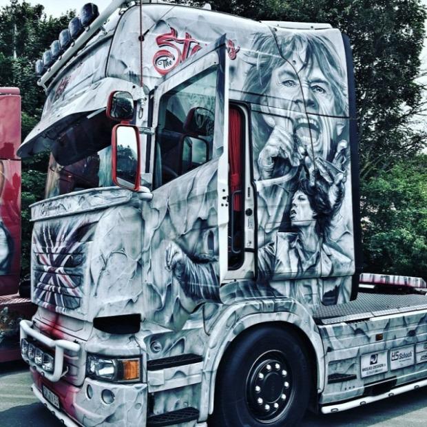 kamion festés A világ érdekes