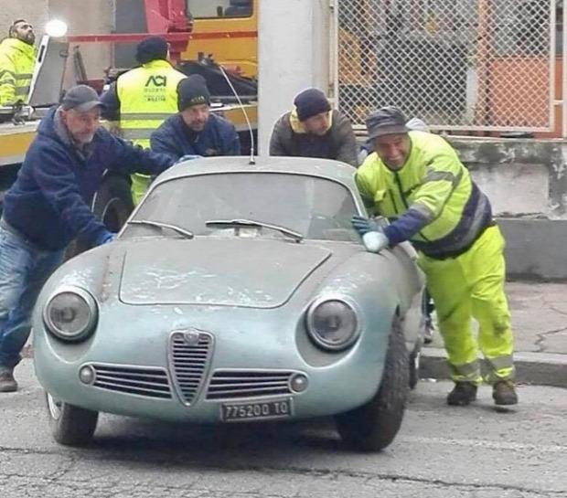 A világ érdekes hagyaték autó Alfa Romeo Giulietta  Sprint Zagato