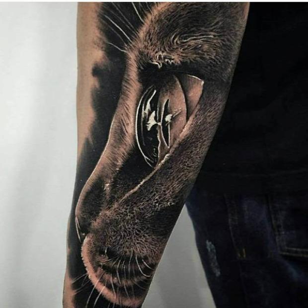 A világ érdekes tatoo tetoválás művész