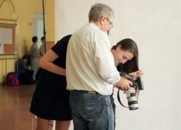 A világ érdekes fotó fényképű furcsa trükk