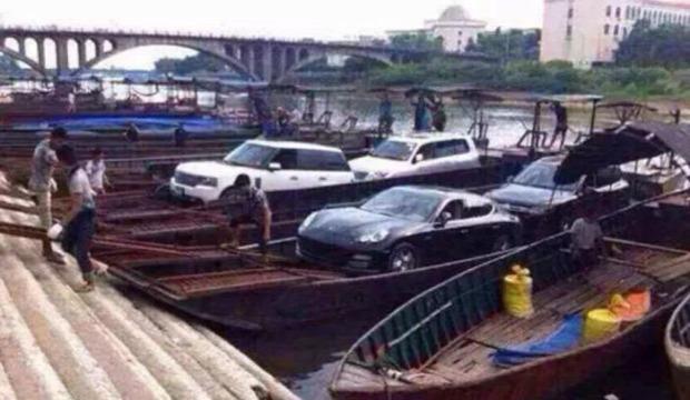 A világ érdekes Kína csempész hajó csónak lopakodó