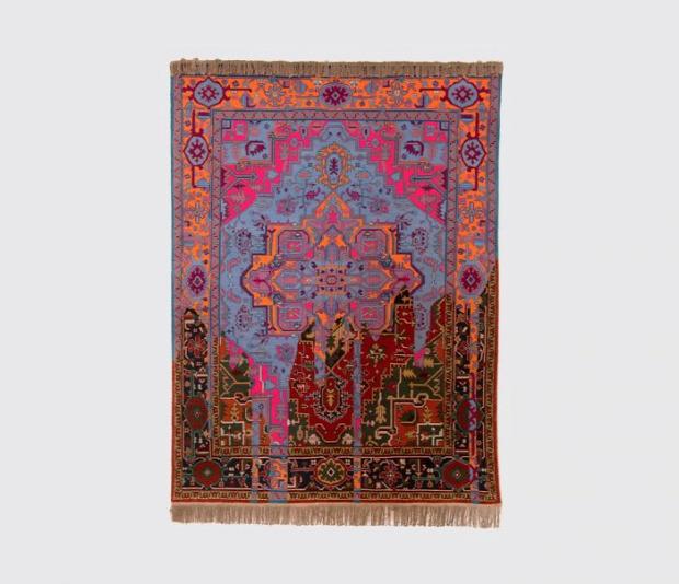 szőnyeg Azerbajdzsán klasszikus modern