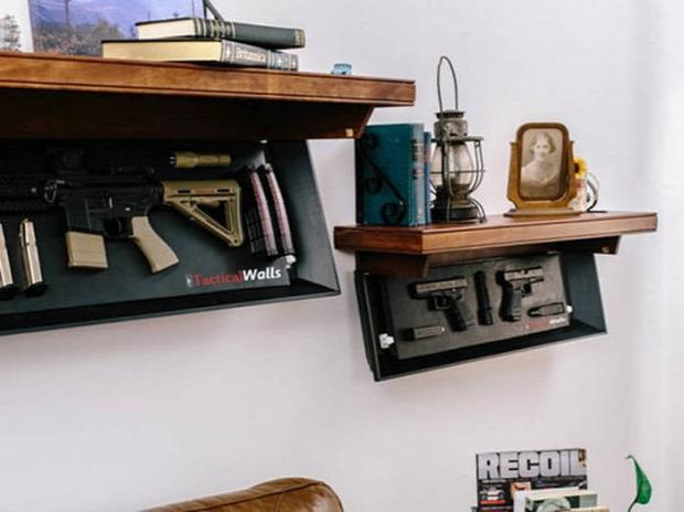 Kütyülógia fegyver szekrény rejtekhely