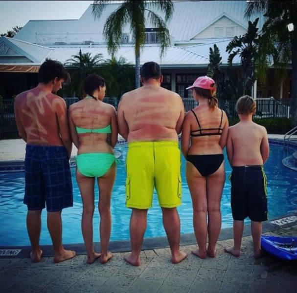 A világ érdekes család fotó