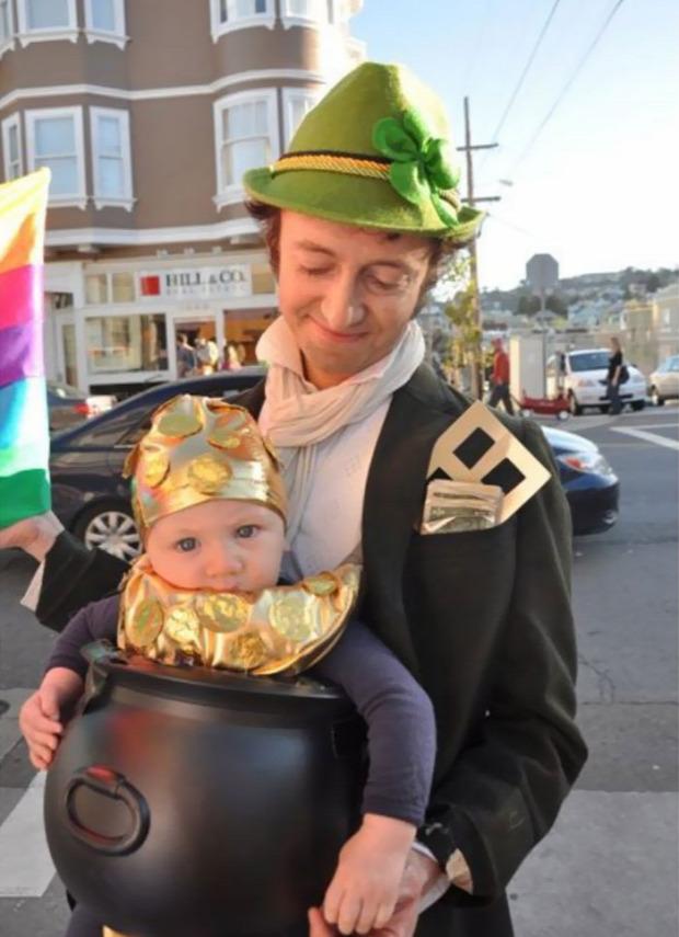 A világ érdekes halloween jelmez baba hordozó