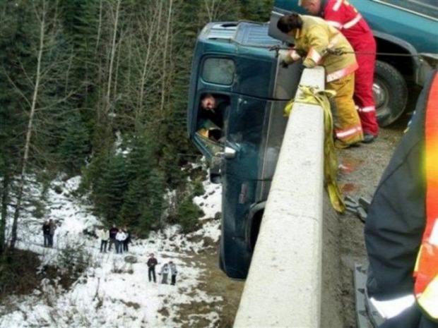 A világ érdekes baleset szerencse