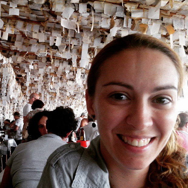 A világ érdekes Brazília bar étterem üzenet cetli papír