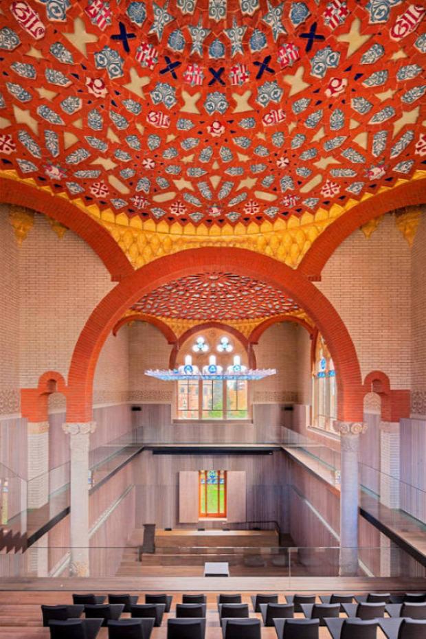 A világ érdekes Barcelona legszebb kórház Saint Pau