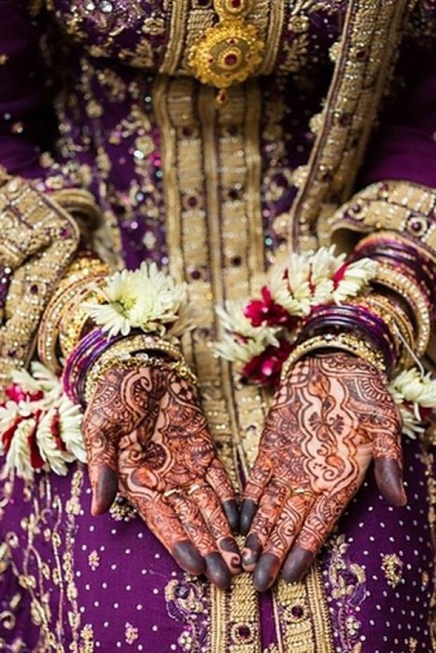 A világ érdekes India henna festés tetoválás