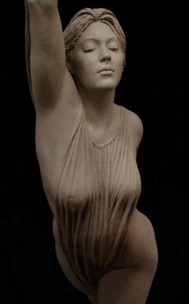 A világ érdekes szobor nő test szépség