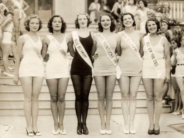 A világ érdekes USA szépségverseny világháború szépségideál