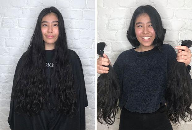 A világ érdekes haj adományozás rák paróka