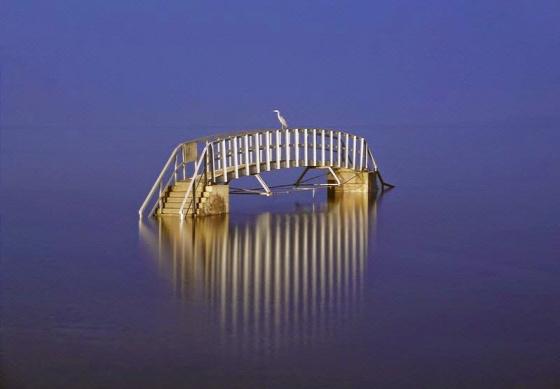 híd folyó apály dagály