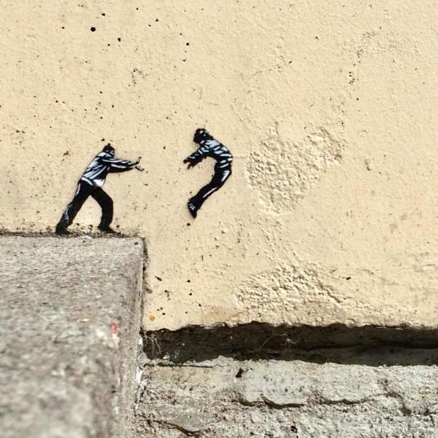 utcai művészet graffiti street art