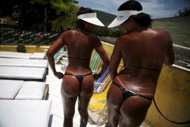 az isten állatkertje Brazília bikini ragasztószalag