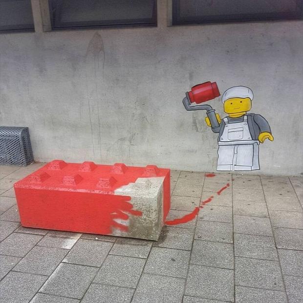 graffiti rajz Párizs