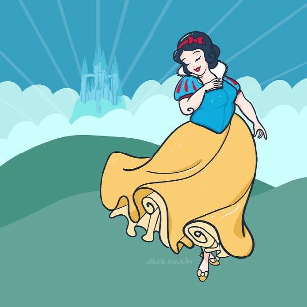 disney hercegnő karakter plus-size
