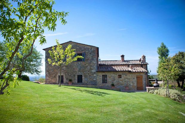 A világ érdekes Toszkána olasz régi villa modern felújítás