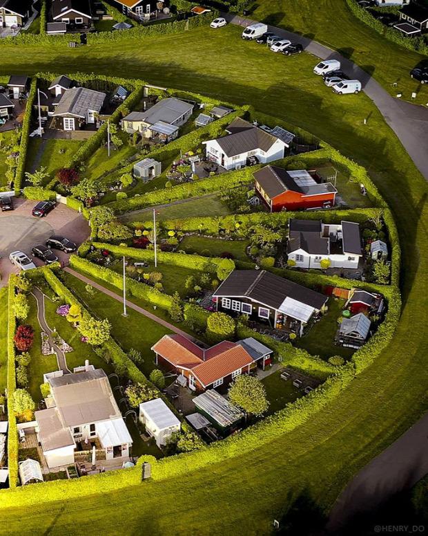 A világ érdekes dánia koppenhága város lakópark kör