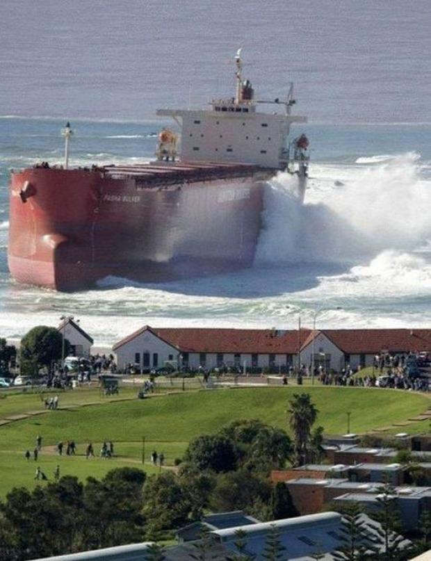 A világ érdekes hajó baleset katasztrófa