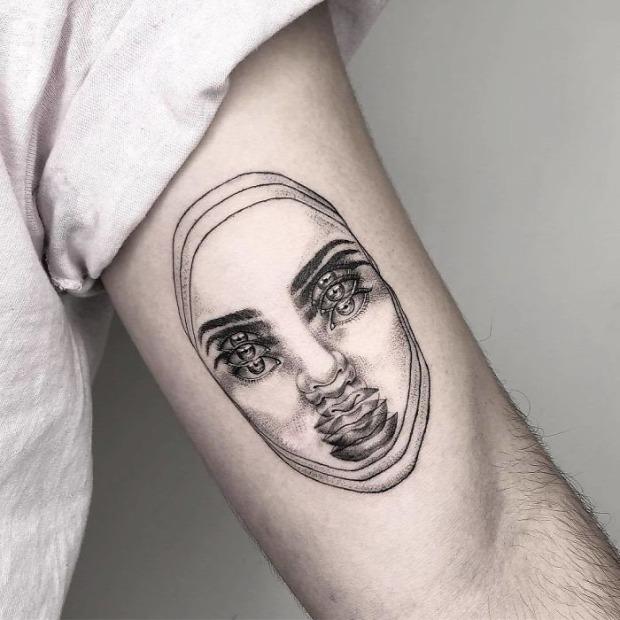 tetoválás tetkó tatoo káprázat