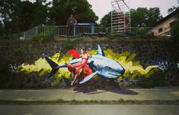 3d graffiti mexikói Carlos Alberto_GH