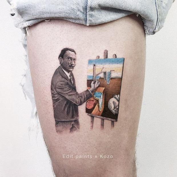 tetoválás tetkó tatoo mikro