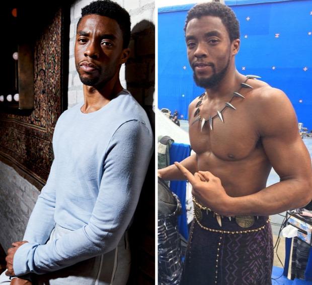 A világ érdekes Marvel színész izom test