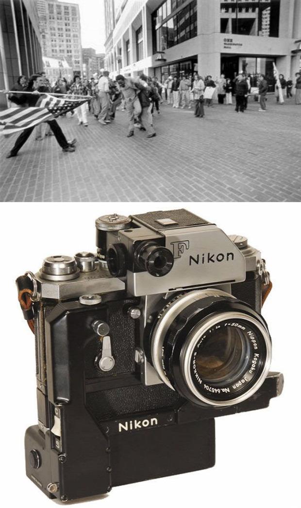 A világ érdeles fotó történelem ikonikus fényképezőgép