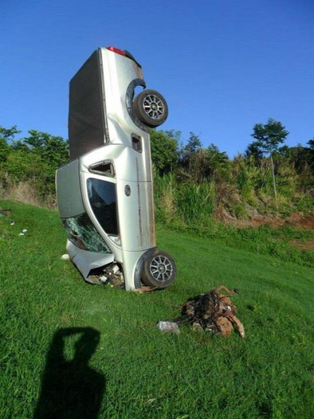 baleset landolás fúródott
