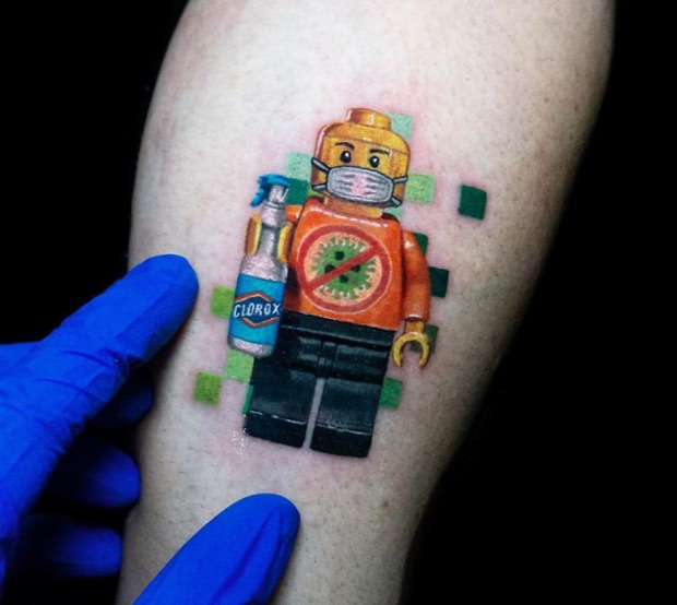 tetoválás járvány koronavírus karantén