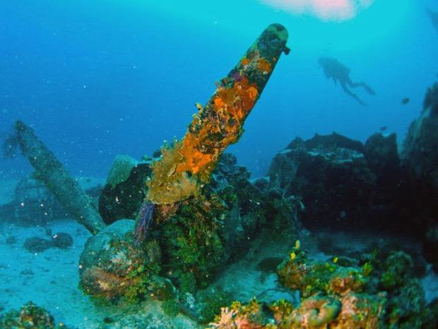 A világ érdekes második világháború Chuuk atoll Chuuk lagúna roncs temető csat