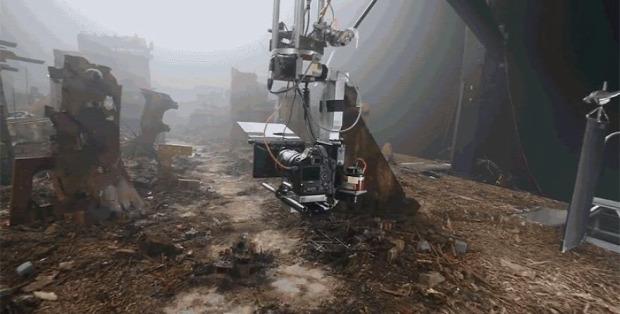 A világ érdekes Blade Runner 2049 miniatűr trükk makett