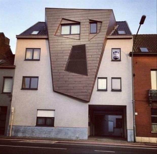 ház épület furcsa egyedi