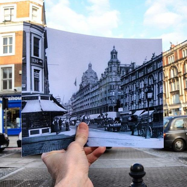 A világ érdekes London régen most