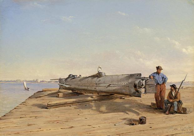 sci-fi SF hard valóság tengeralattjáró Hunley