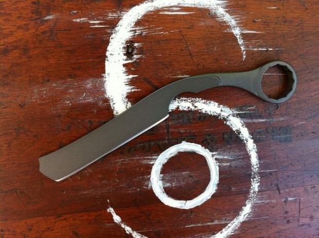 A világ érdekes kovácsolt kés