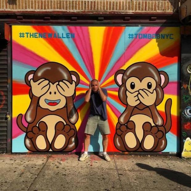 A világ érdekes graffiti New York művészet