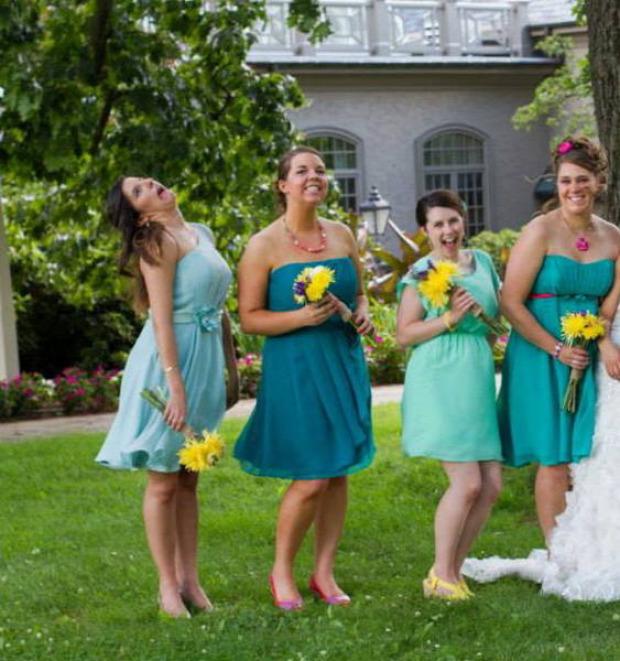 A világ érdekes esküvő fotó