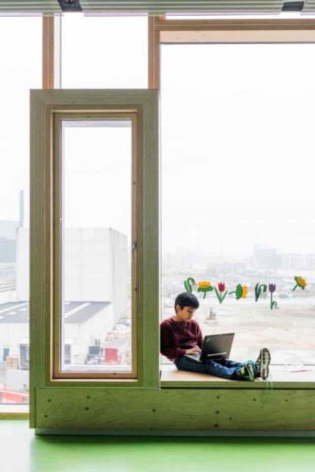 A világ érdekes Koppenhága  iskola közösség