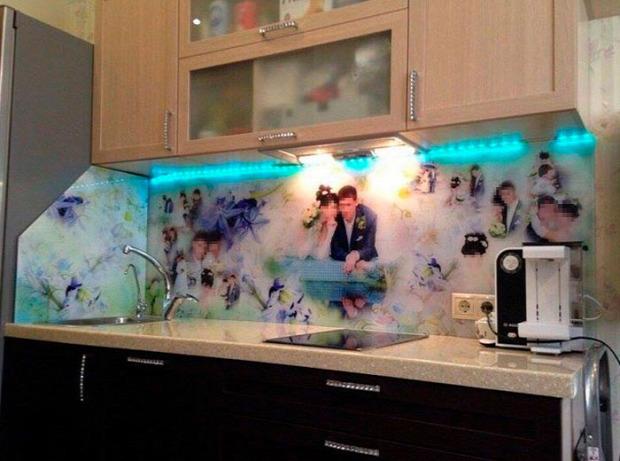 Isten állatkertje konyha dizányn